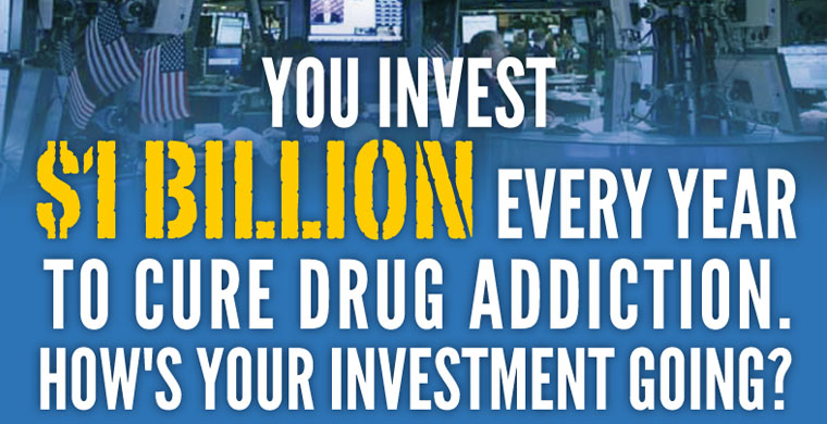 Addiction Research Waste 1.6 Billion Dollars a Year