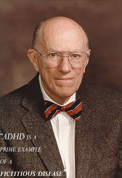 "Dr. Leon Eisenberg, ""Father"" of ADHD"