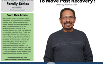 Are You Ready To Move Past Recovery?
