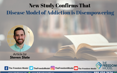 New Study Confirms That Disease Model Of Addiction Is Disempowering