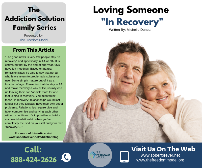 """Loving Someone """"In Recovery"""""""