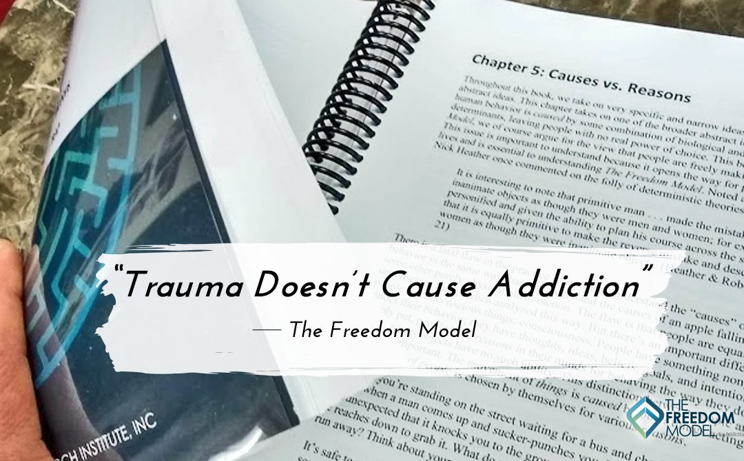 Trauma Doesn't Cause Addiction – But it Can be a Reason for it