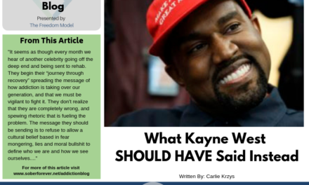 What Kayne West SHOULD HAVE Said Instead