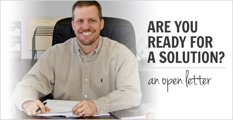 """An Open Letter to Those with an Alcohol or Drug Problem – """"Are You Ready for a Solution?"""""""