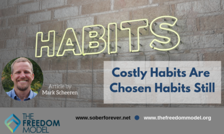Costly Habits Are Chosen Habits Still